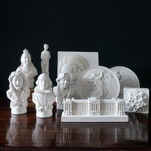 plaster models
