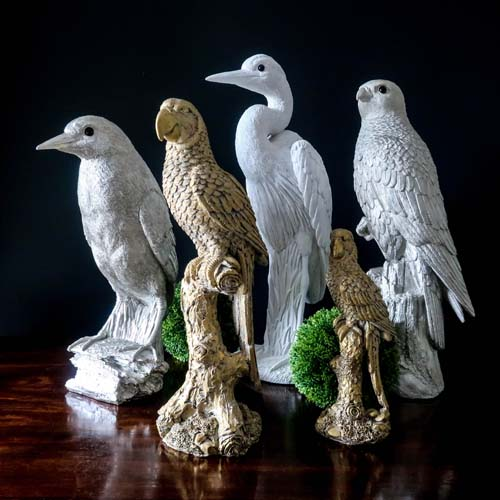 decorative birds